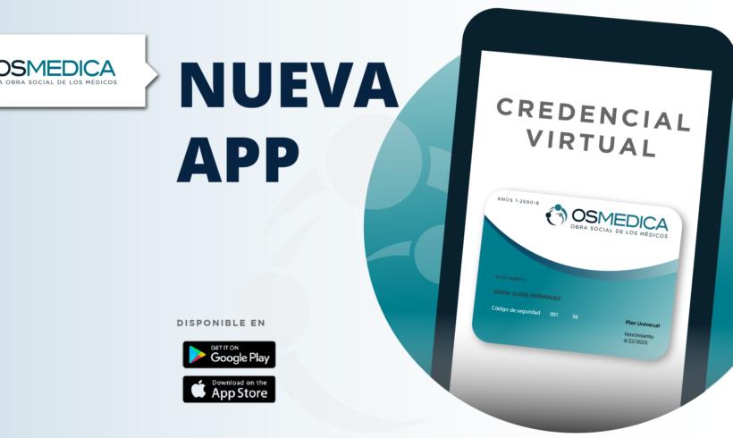 Nueva App Credencial virtual